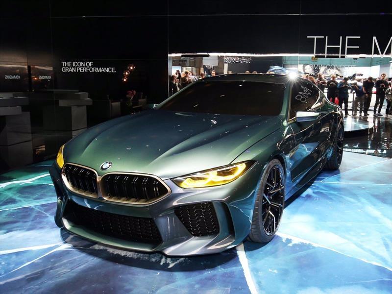 BMW M8 Gran Coupé Concept debuta