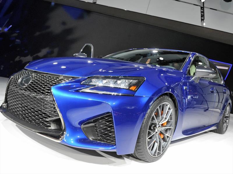 Lexus GS F, más potencia y nuevo diseño