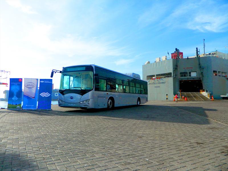 BYD K9: Llega a Chile el bus 100% eléctrico