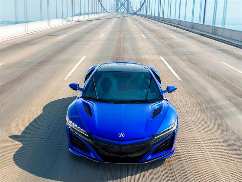 Pebble Beach: Honda NSX se actualiza con mucho color