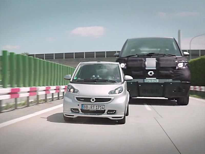 Video Smart Se Rie De Los Autos Grandes Con Dos Publicidades