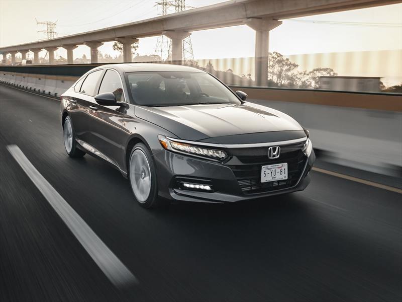 Honda Accord 2018 a prueba
