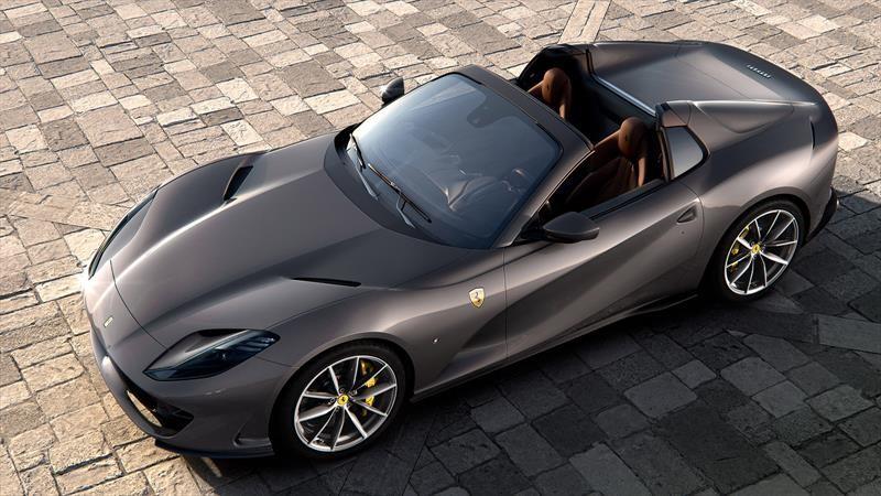 Ferrari 812 GTS 2020 es el convertible más rápido de la historia