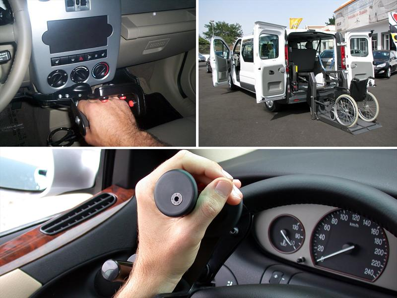 ¿Cómo se adapta un auto para personas con discapacidad?