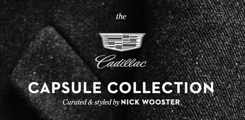 Cadillac Capsule Collection creación de Nick Wooster