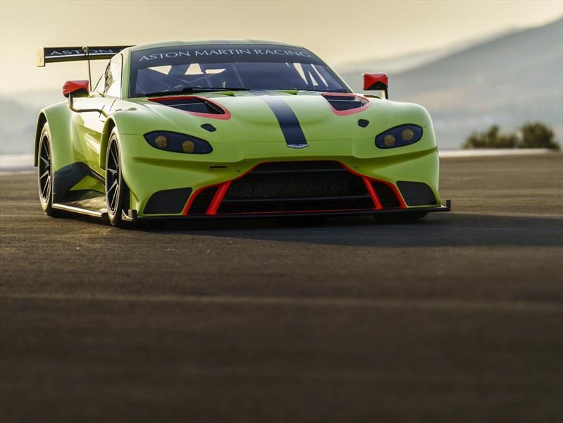 Aston Martin Vantage GTE se presenta