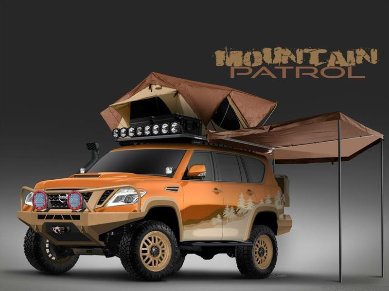 Nissan Armada Mountain Patrol, el SUV perfecto para la aventura