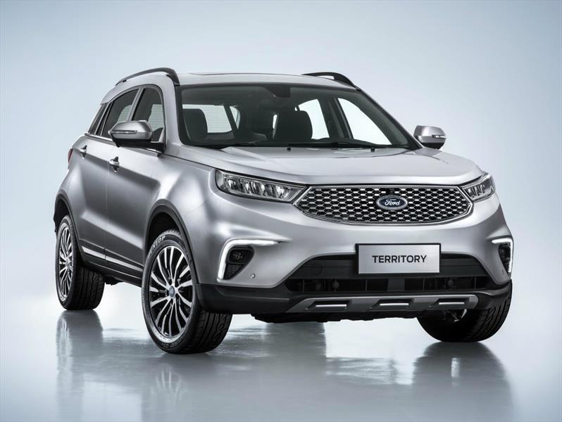 Territory es el nuevo SUV híbrido de Ford para el mercado chino