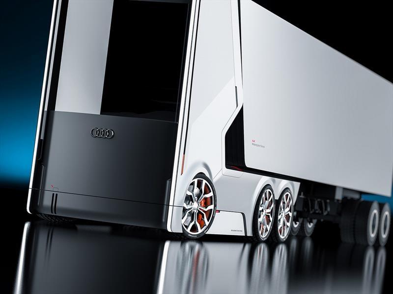 Audi vislumbra el camión del futuro