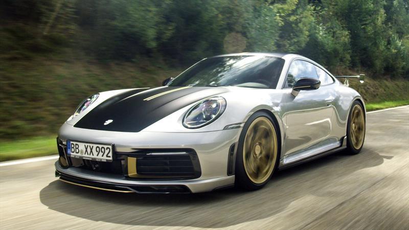 TechArt aumenta el performance del Porsche 911 Carrera 4S 2020