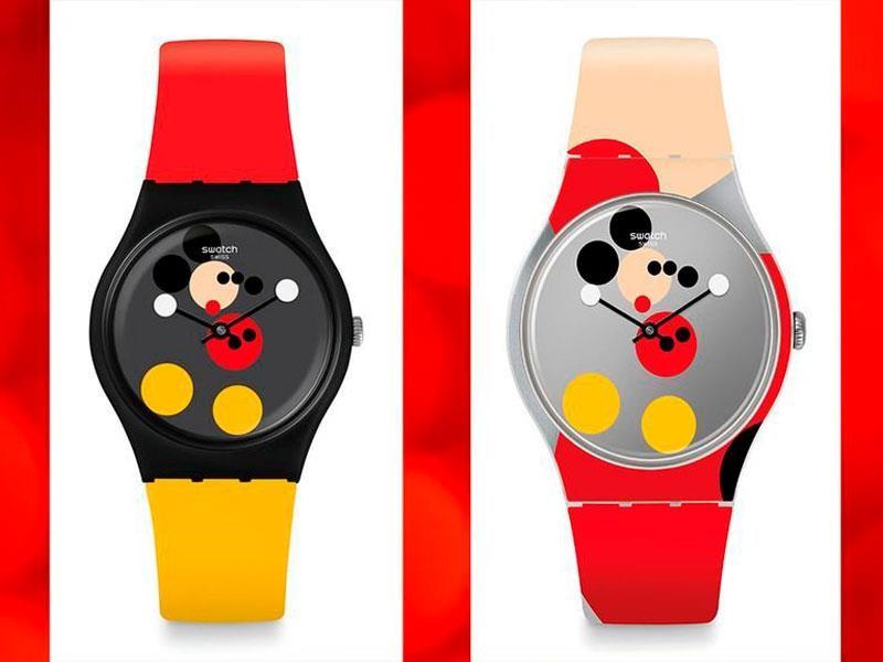 Swatch celebra a Mickey Mouse, de la mano del artista Damien Hirst