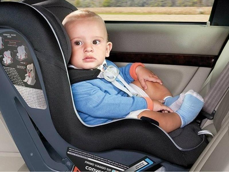 Sin importar la edad, el asiento de automóvil para niño/bebé deben ir orientado hacia atrás