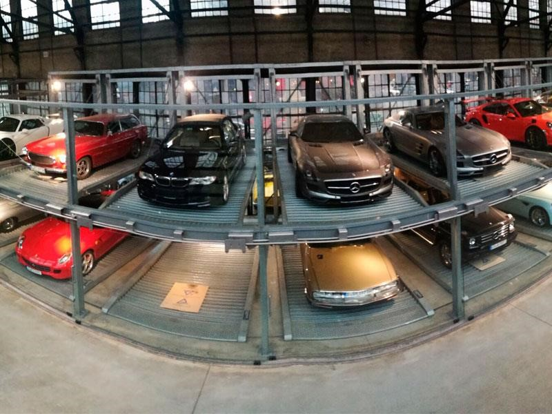 Classic Remise Dusseldorf presume ser el centro de autos clásicos más grande del mundo