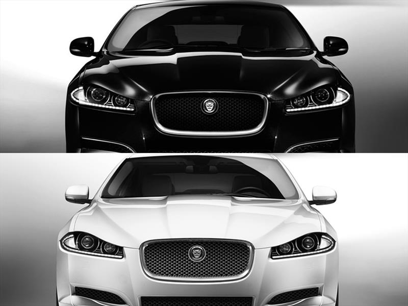 Jaguar XF Black and White: sólo para Colombia
