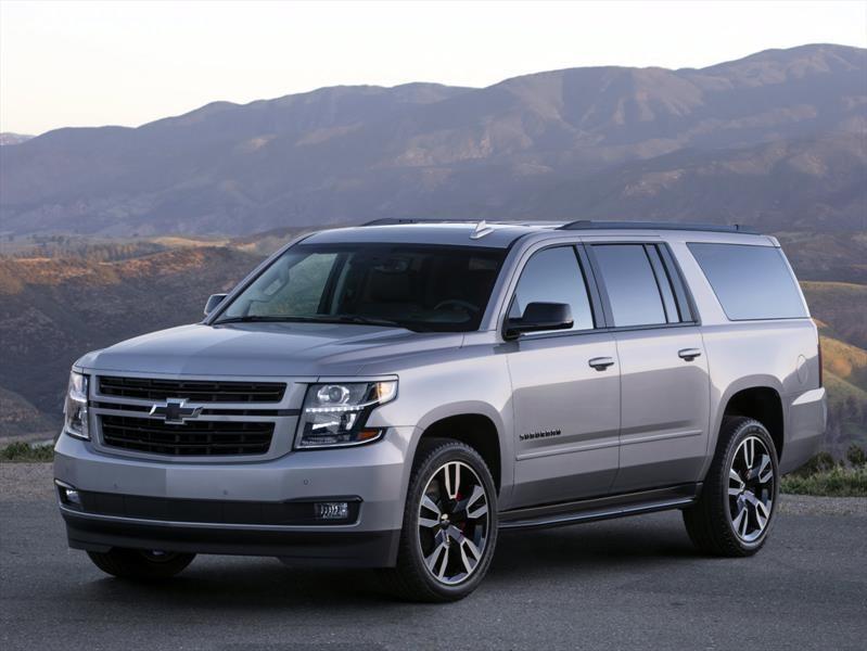 Chevrolet Suburban RST 2019 contiene más de 400 hp gracias a un nuevo V8