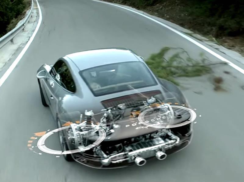 ¿Cómo funciona la dirección trasera activa de Porsche?
