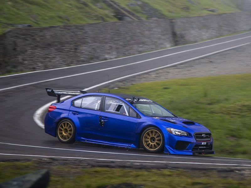 Así impuso el récord el Subaru WRX STI Type RA NBR en Transfagarasan