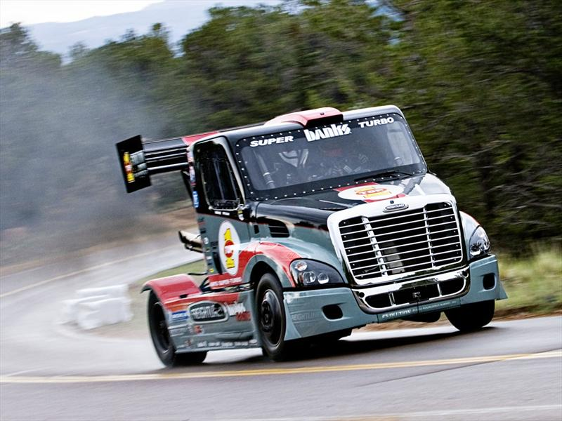 Un camión con más de 3,000 caballos de poder para Pikes Peak