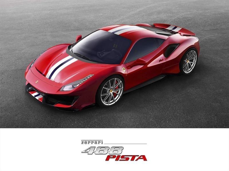 Ferrari 488 Pista 2019, de la pista a las calles