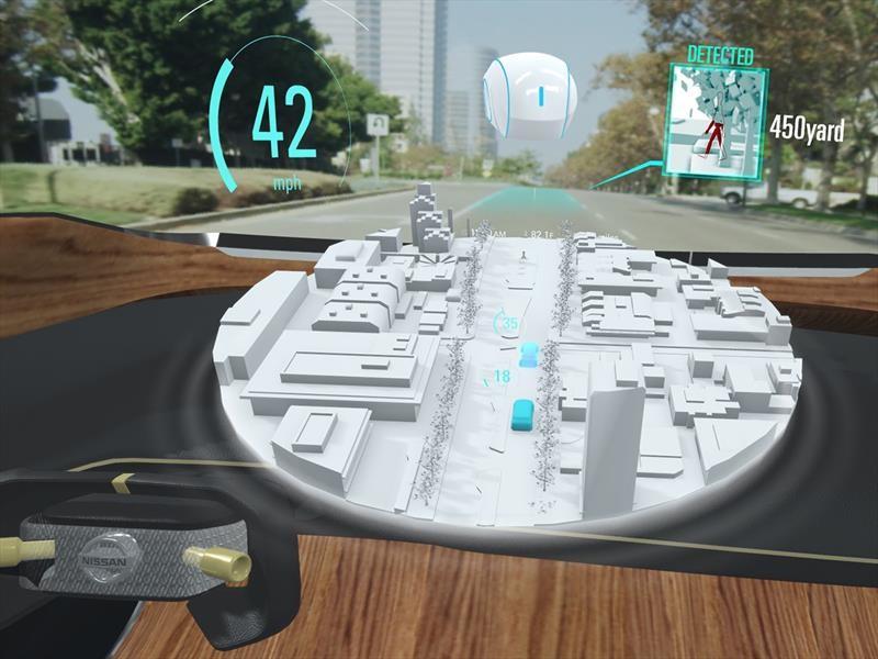 Nissan presenta el concepto de tecnología invisible en el CES 2019
