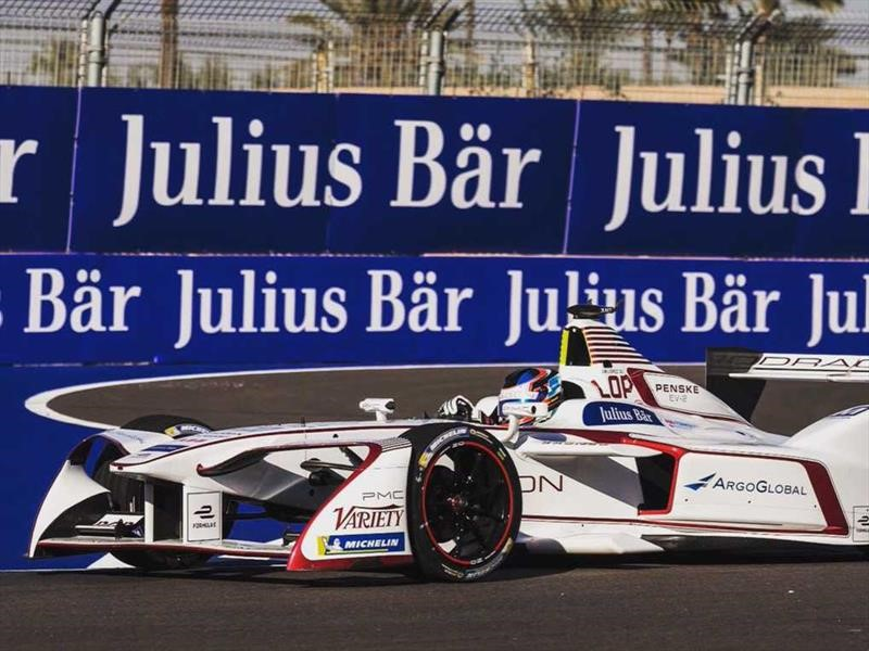 Fórmula E, ePrix de Santiago: Pechito López se quedó con las ganas