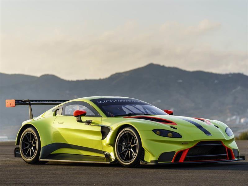 Aston Martin Vantage GTE, preciosa bestia de competición