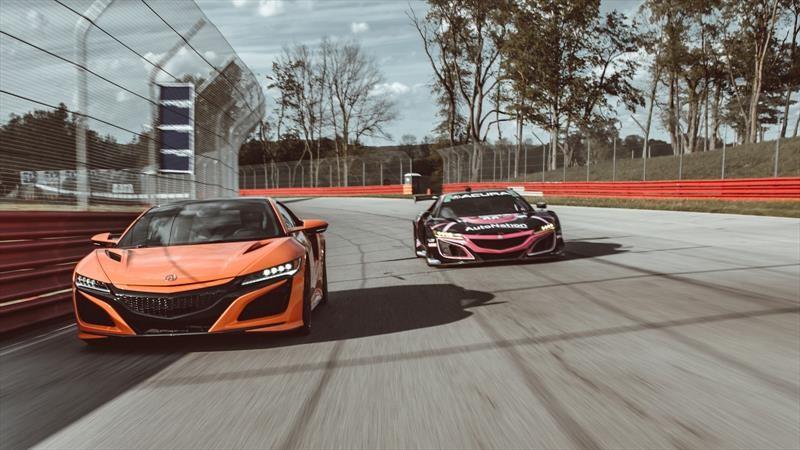 Acura NSX vs Acura NSX GT3 Evo ¿cuál es mejor?