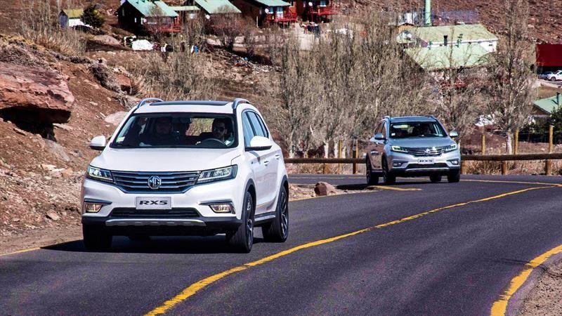 MG Motors equipa al RX5