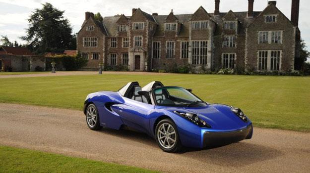 Teewave AR.1, el nuevo auto eléctrico deportivo