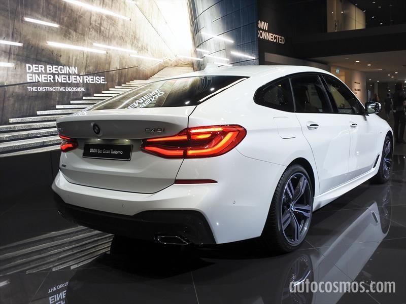 BMW Serie 6 Gran Turismo despliega su particular silueta en Frankfurt