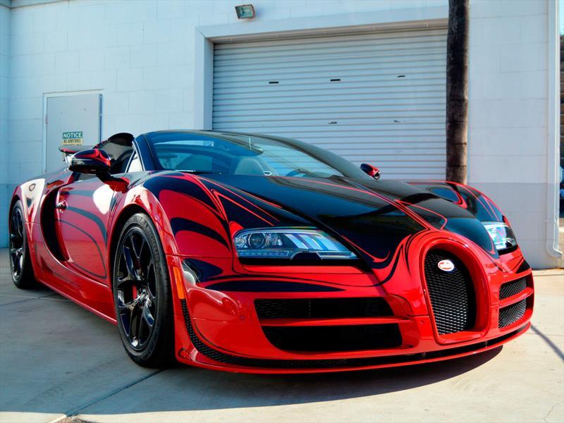 Video: Bugatti Veyron a 370 km/h en carretera