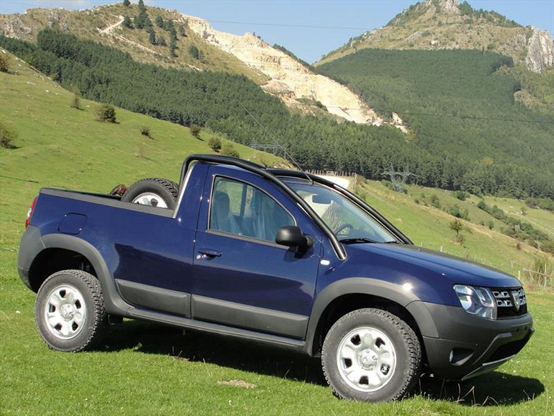 dacia duster pick up se presenta oficialmente. Black Bedroom Furniture Sets. Home Design Ideas