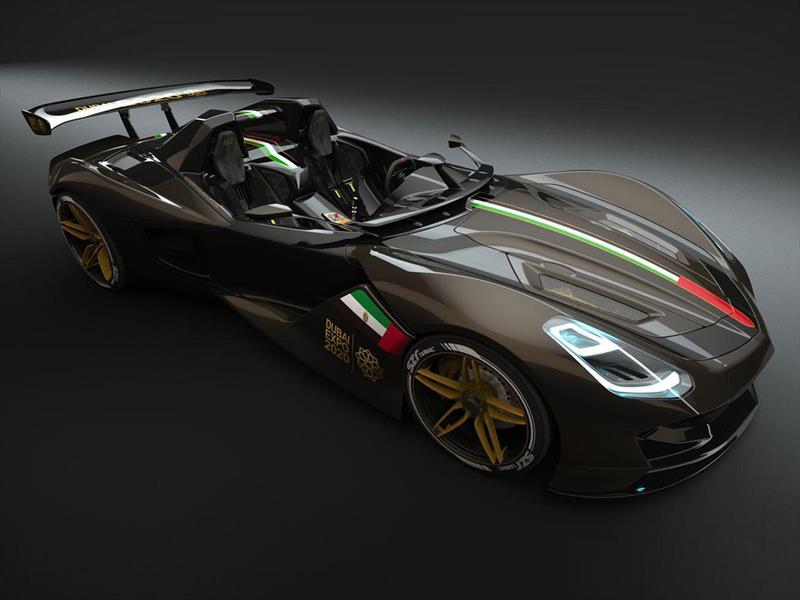 Dubái Roadster, el emir de los superdeportivos
