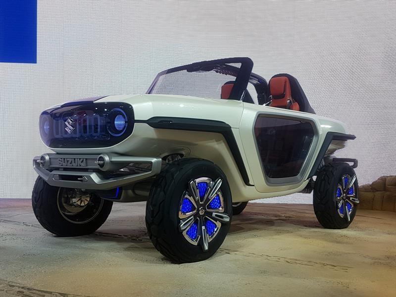 Suzuki e-Survivor Concept, un vehículo off-road de ensueño