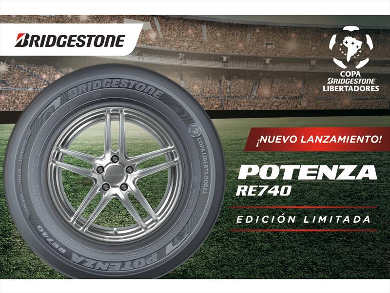 Lanzamiento Potenza RE 740 Copa Bridgestone Libertadores