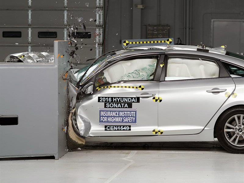El nuevo Hyundai Sonata se queda con el Top Safety Pick +