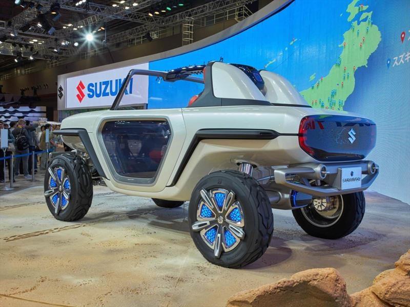 Suzuki e-Survivor Concept, el todo-terreno del futurista