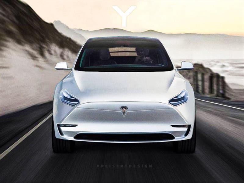 Tesla Model Y, el hermano menor del Model X, llega en 2019