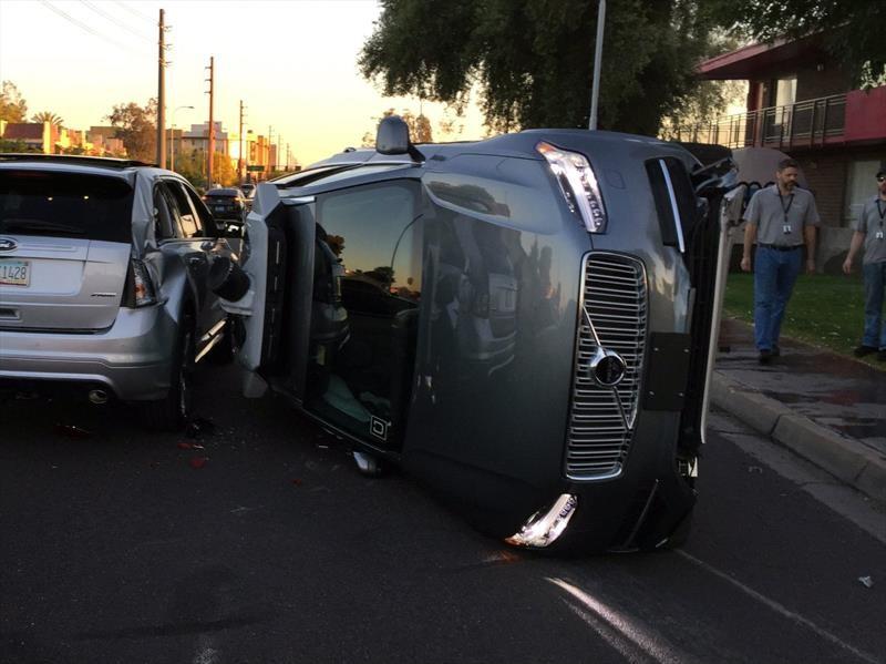 Uber registra el primer atropello fatal por parte de un auto de conducción autónoma