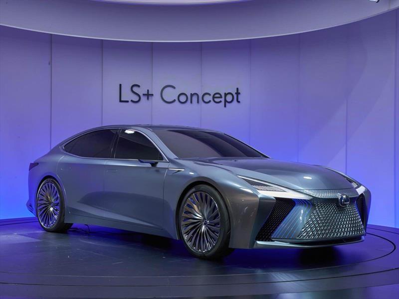 Lexus LS+ Concept, todo el esplendor y el lujo