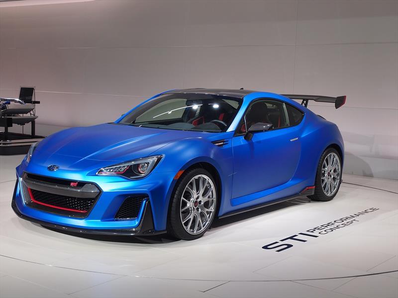 Subaru STI Performance Concept: Deportivo con más de 300 HP