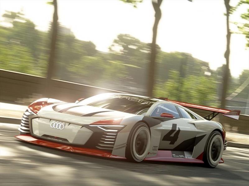 Audi e-tron Vision Gran Turismo destruye la linea entre la virtualidad y la realidad