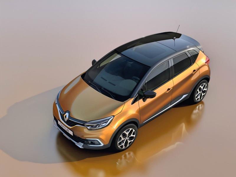 Renault presenta el Captur 2017