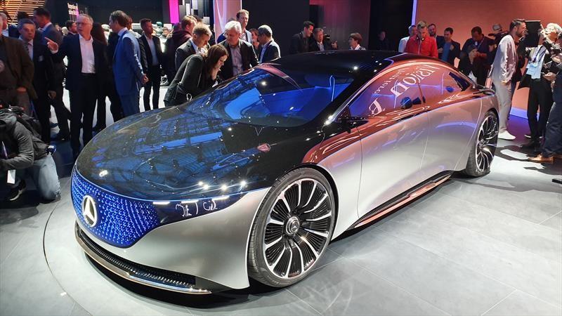 Mercedes-Benz Vision EQS, así será el Clase S eléctrico