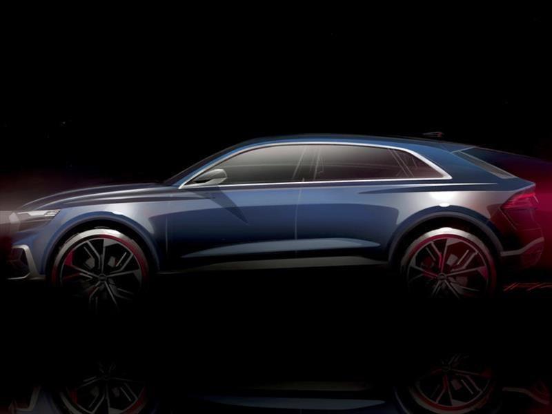 Audi Q8 Concept, el futuro rival del BMW X6