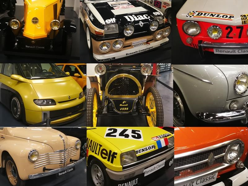 120 años de Renault, estos son sus 10 modelos más importantes