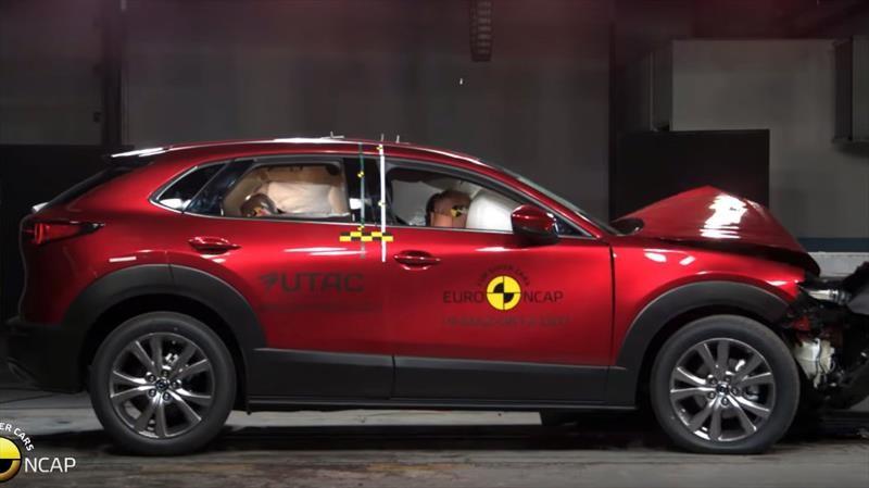 Mazda CX-30 recibe 5 estrellas de Euro NCAP por su alto nivel de seguridad