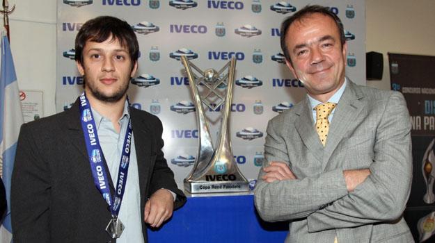 Iveco presenta la Copa del Torneo Apertura 2011