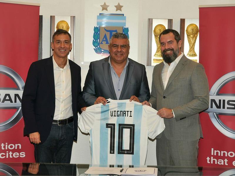 Nissan es el nuevo sponsor de la Selección argentina
