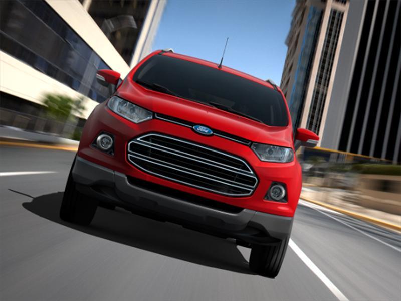 Ford EcoSport 2013 se presenta en el Salón del Automóvil de Bogotá